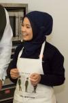 Student Gul Dasta-Ali at the Recipe for Remembrance event