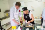 Ted Baillieu and chef at the Recipe for Remembrance event