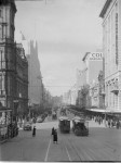 Bourke street Melbourne – the shopping heart of the city. Pictures Collection, State Library of Victoria.