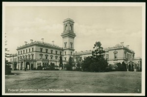 Federal Government House, Melbourne. Pictures Collection, State Library of Victoria.