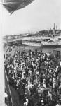 Orvieto leaving Port Melbourne pier