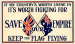 If my counrtry's worth living in it's worth fighting for picture Date 1915. Pictures Collection, State Library of Victoria.