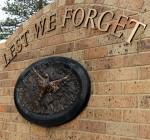 Lest We Forget - Frankston War Memorial