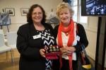 Orvieto embarkee descendants Denise Hollingworth and Maureen Tritt