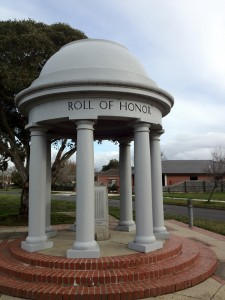 Roll of Honour Rotunda Ballarat