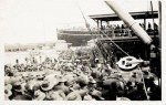 Ship returning from WWI. Pictures Collection, State Library of Victoria.