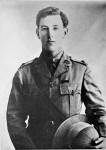 Studio portrait of Captain (Capt) Albert Jacka VC MC and Bar, 14th Battalion, c 1917