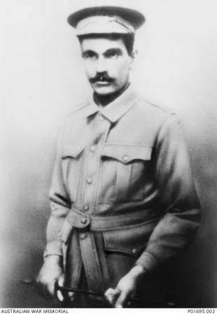 An Aboriginal serviceman, 5459 Corporal (Cpl) Harry Thorpe MM.