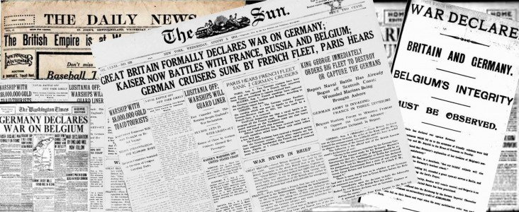 Dates of wwi in Melbourne