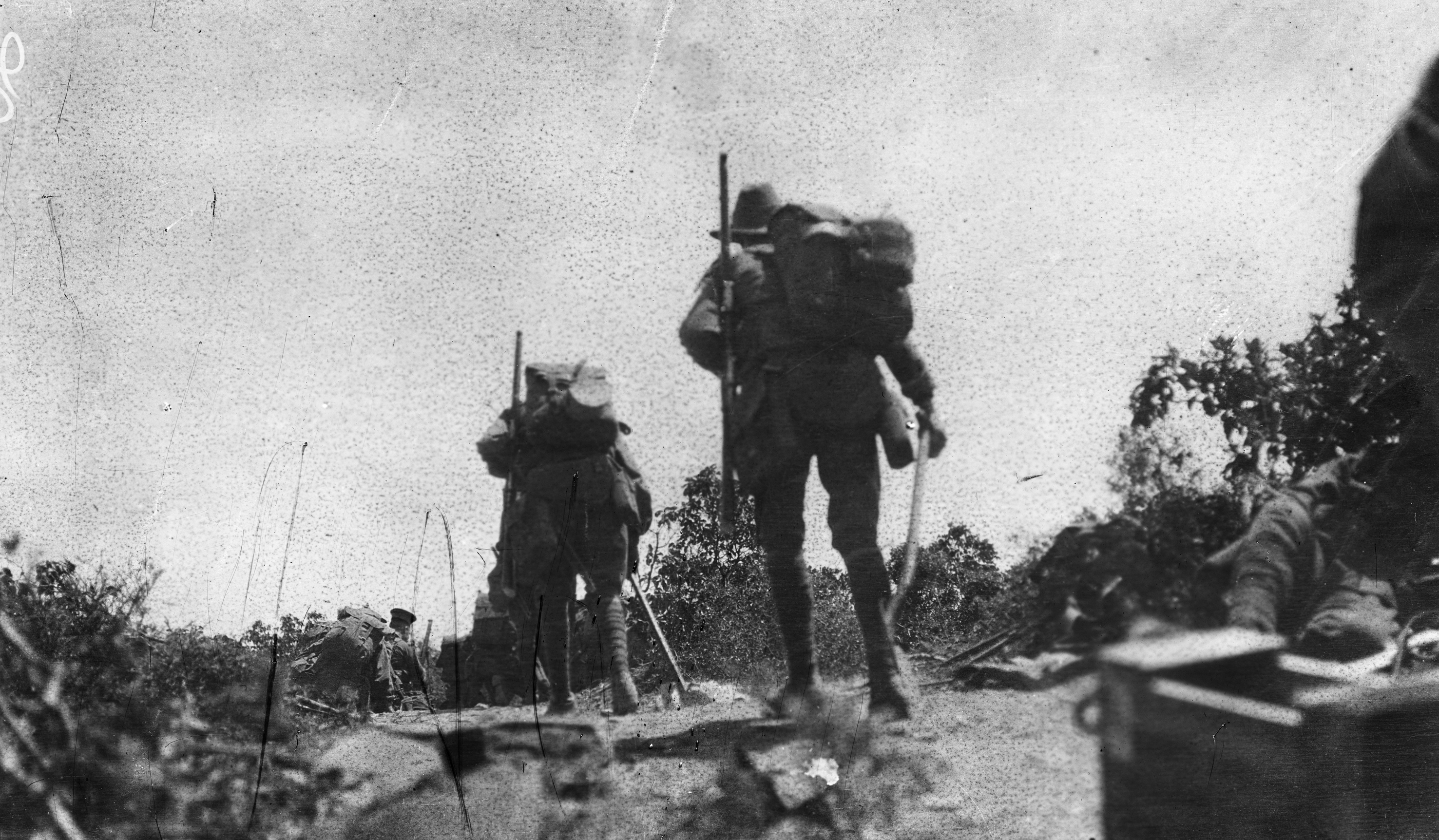 australian involvement in wwi history essay The battle of villers-bretonneux in  higher prominence in accounts of australia's involvement in wwi  by the australian government after wwi,.