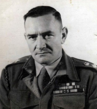 George Warfe WWII Commando Leader