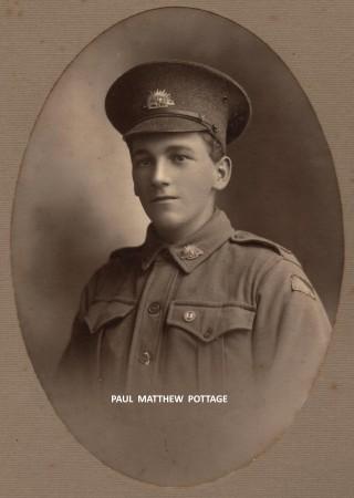 Paul Matthew Pottage aged 19