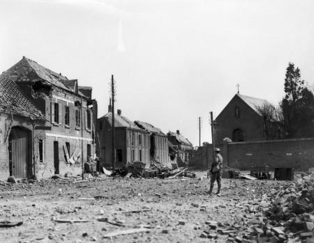 Buildings at Villers-Bretonneux